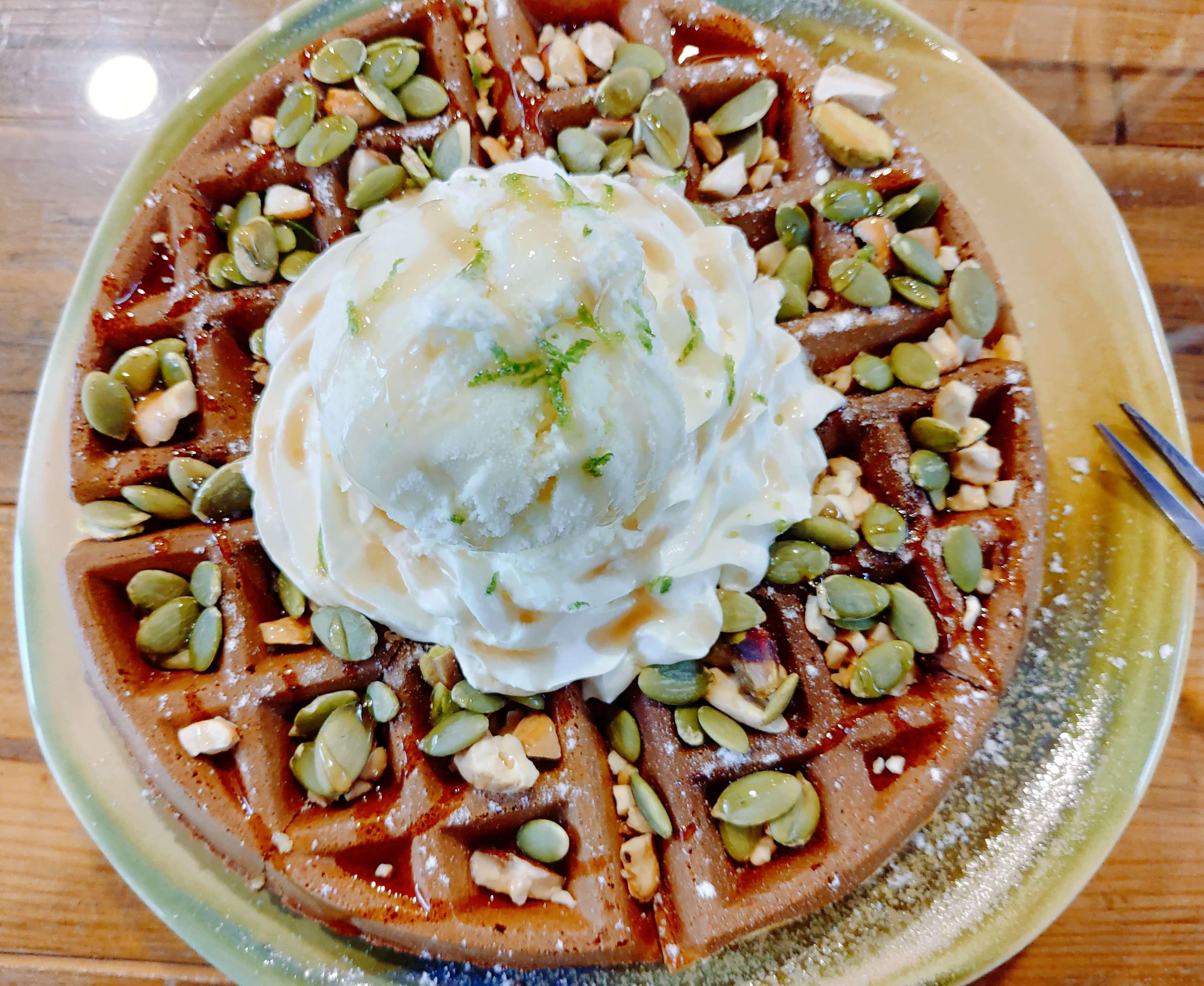【花蓮壽豐】花田小路–藝術家X貨櫃咖啡廳與美味鬆餅