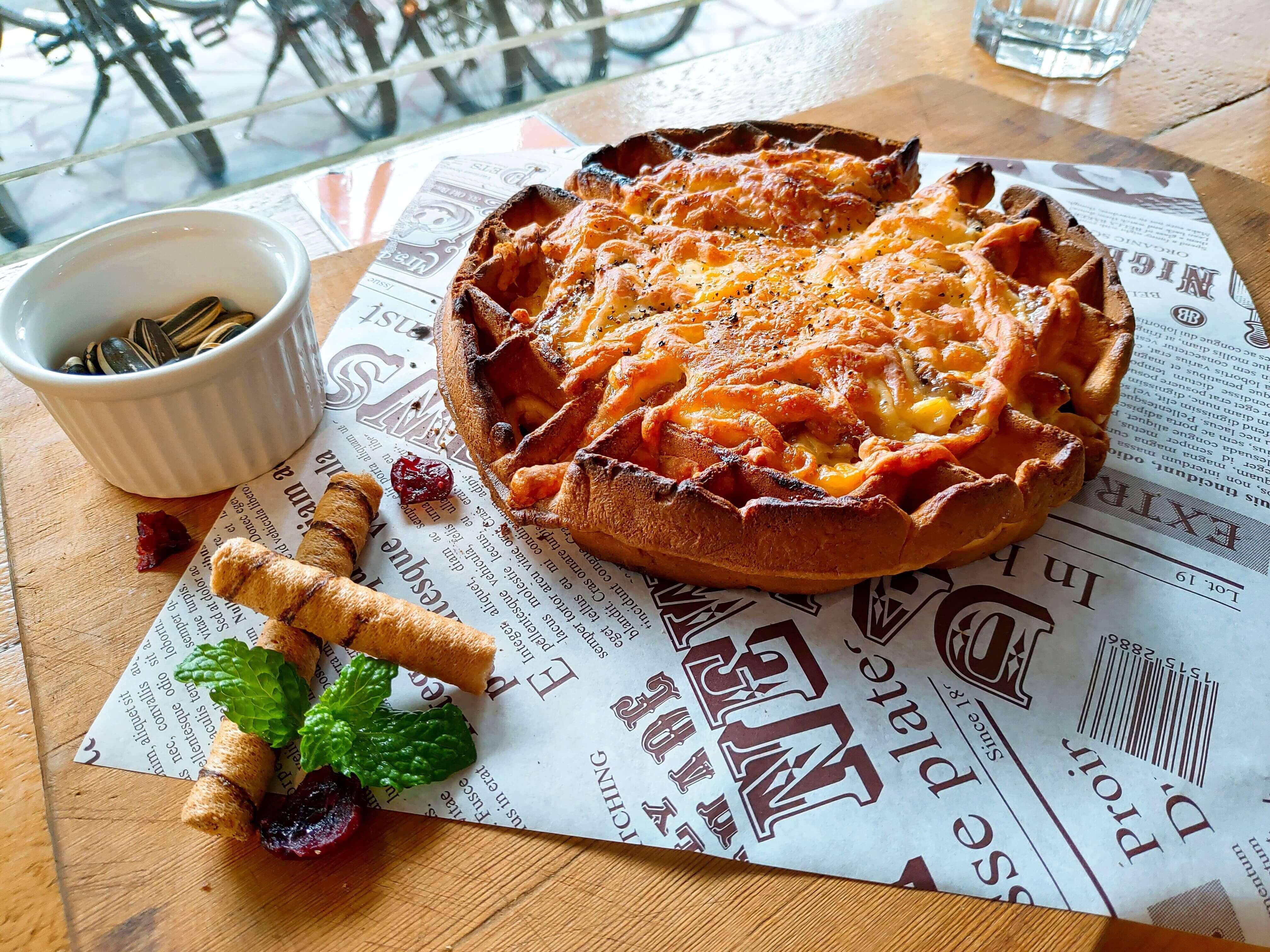 【花蓮市區】1709咖啡廳–美味焗烤鬆餅