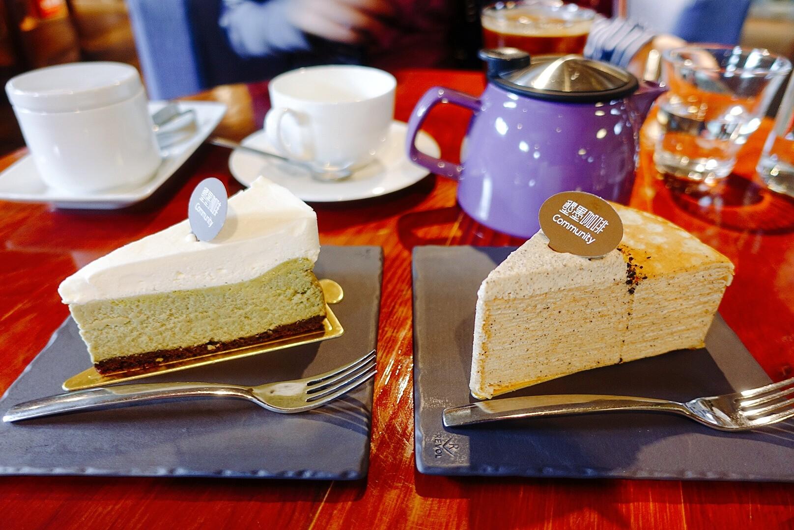 【台東市區】墾墨咖啡|層次感極佳的千層蛋糕,舒適的閱讀空間