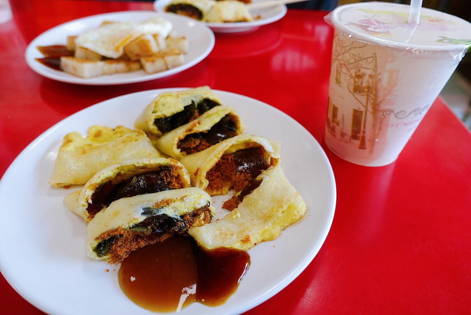 【花蓮市區】Amis活力早午餐|超獨特又美味的皮蛋蛋餅