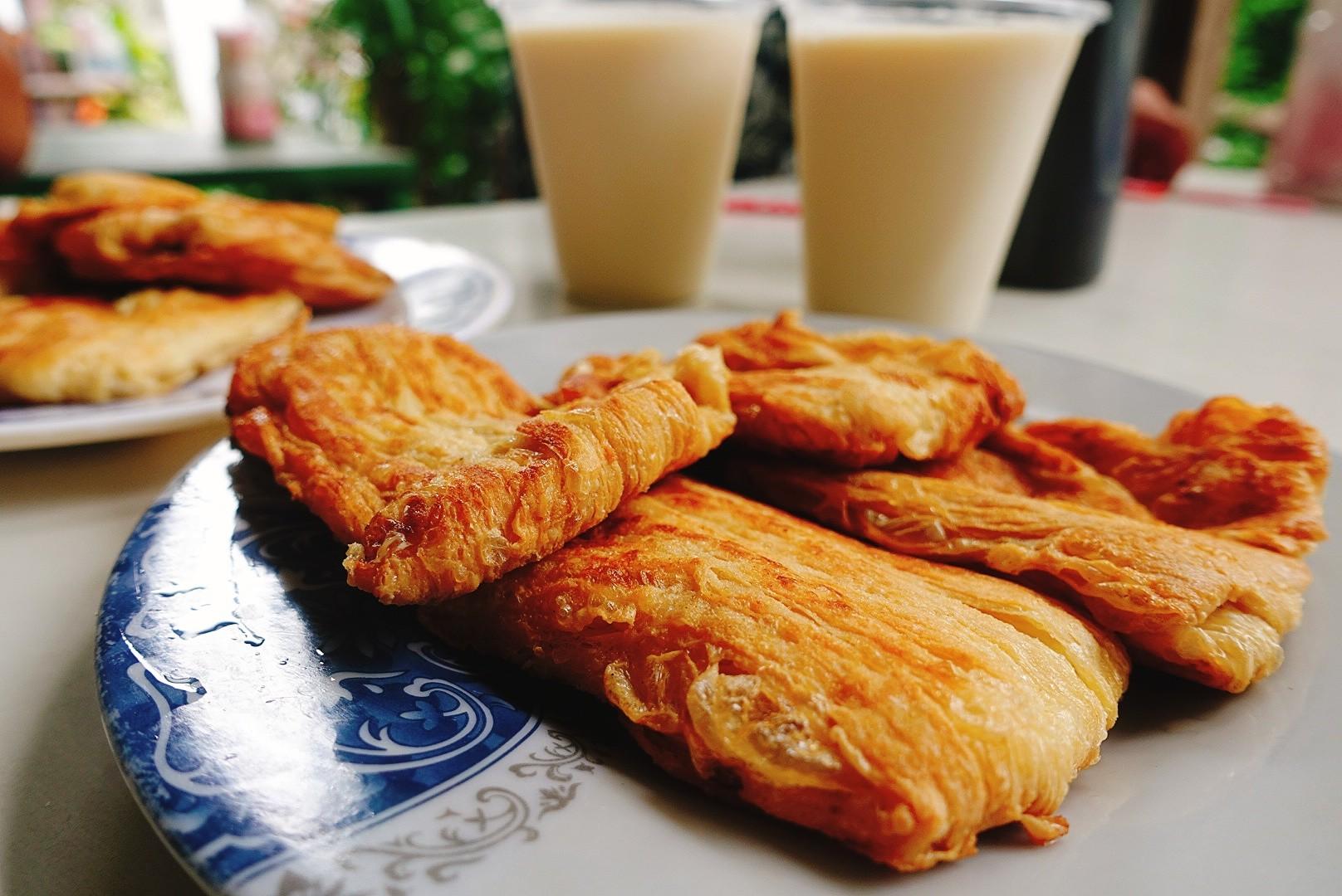 【台東池上】大池豆包豆皮豆漿店|必嚐的手工香煎豆包與香醇豆漿