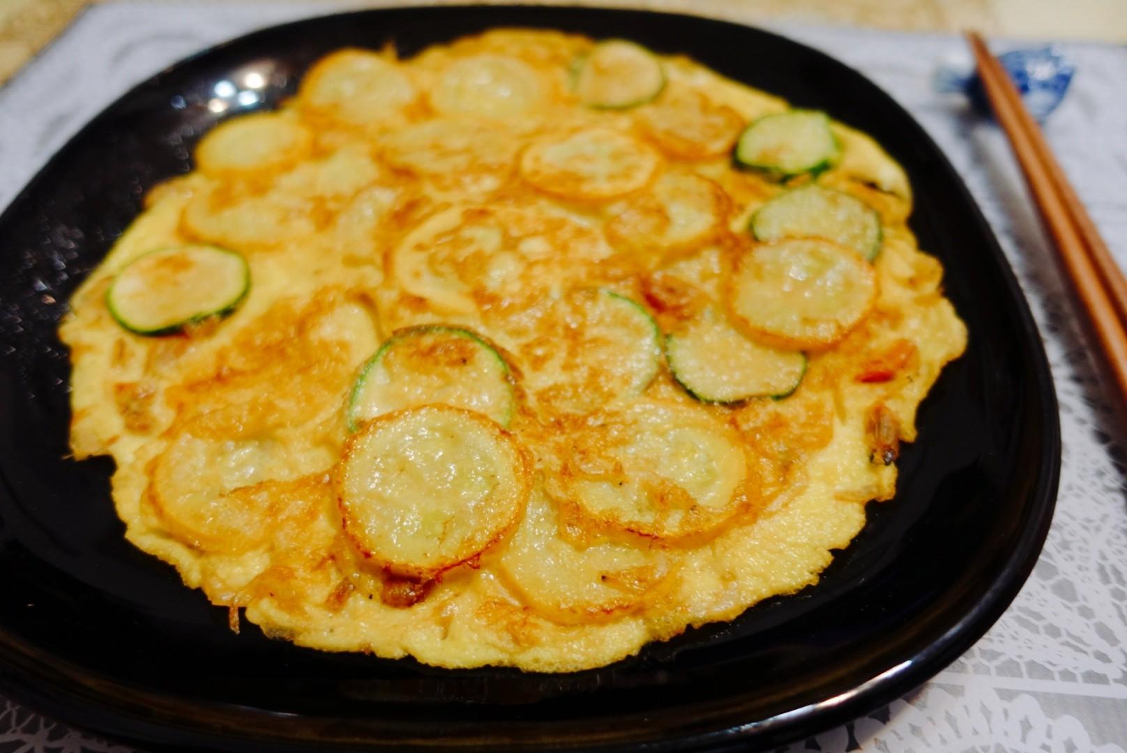 【食譜】櫛瓜煎蛋|簡單美觀又超好吃,還很營養又健康