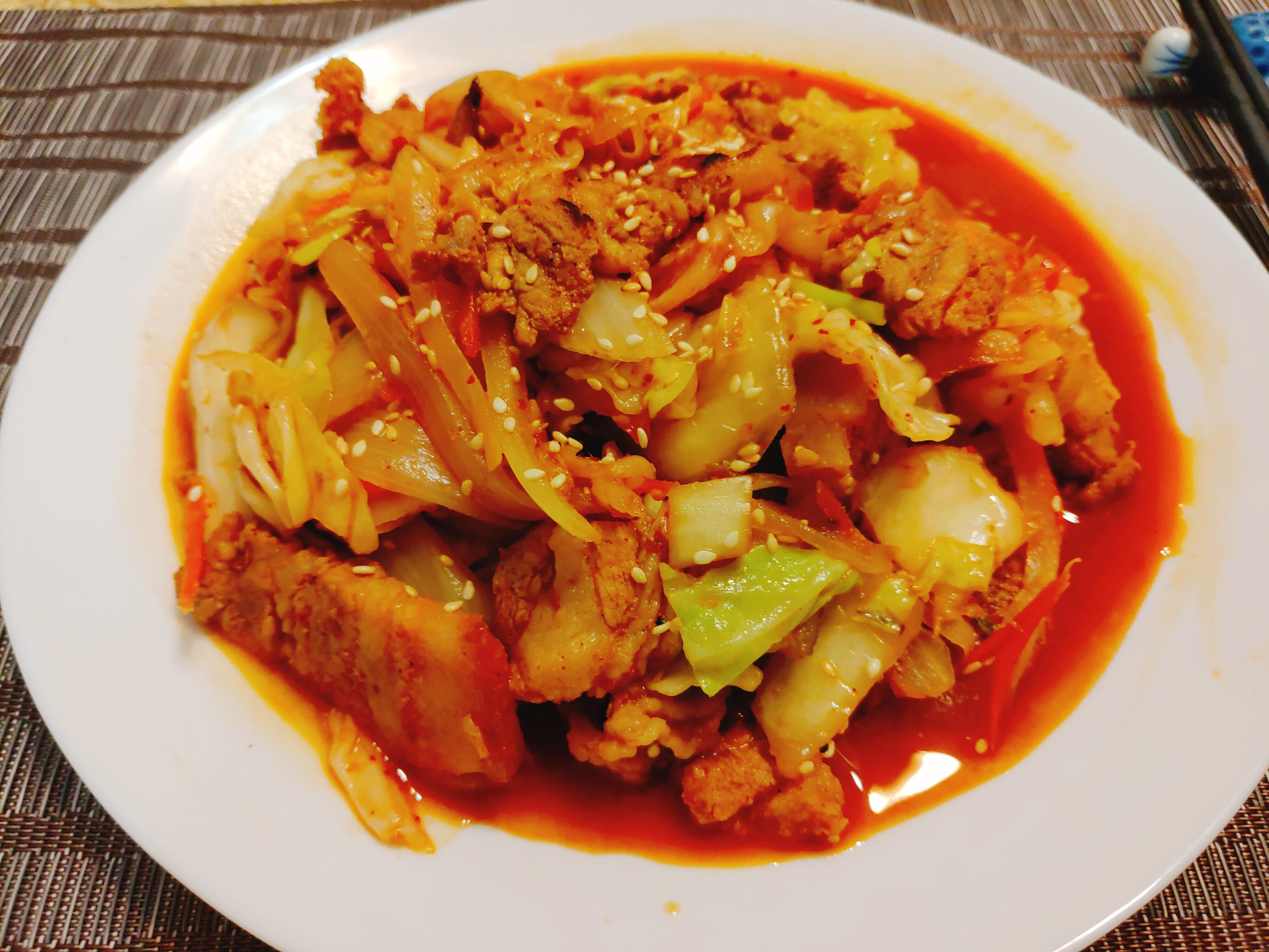 【食譜】韓式泡菜燒肉|韓式料理簡單在家做