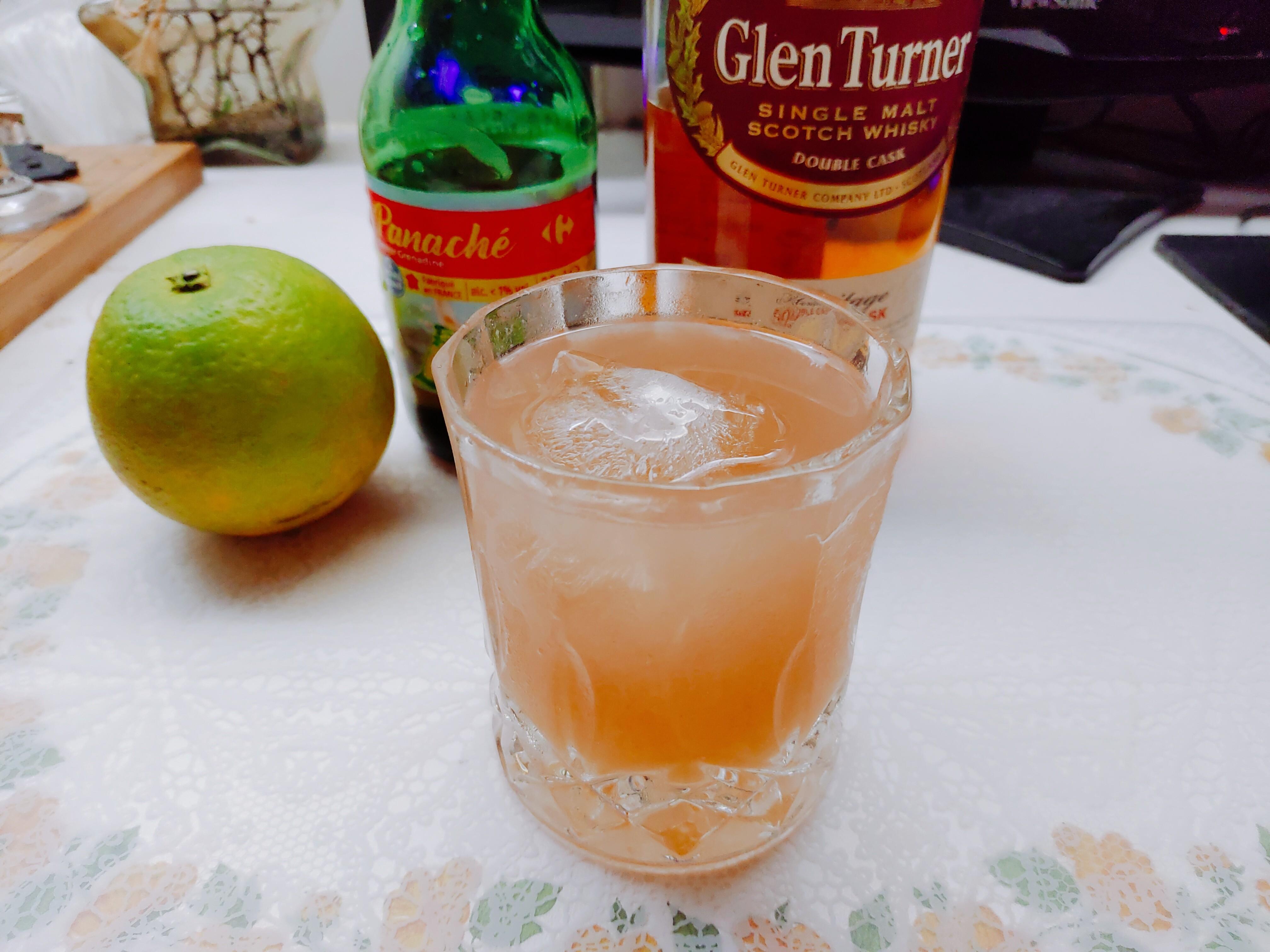 【酒譜】簡單在家調系列(四)|橙榴爽朗風威士忌