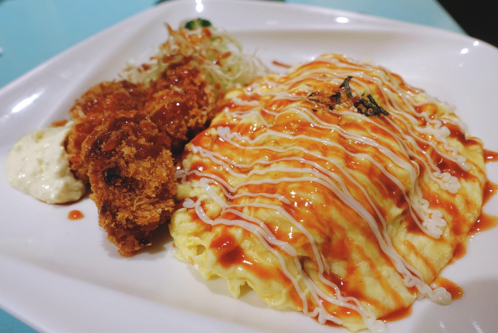【花蓮市區】菊川和風洋食館|平民價格的美味滑嫩蛋包飯