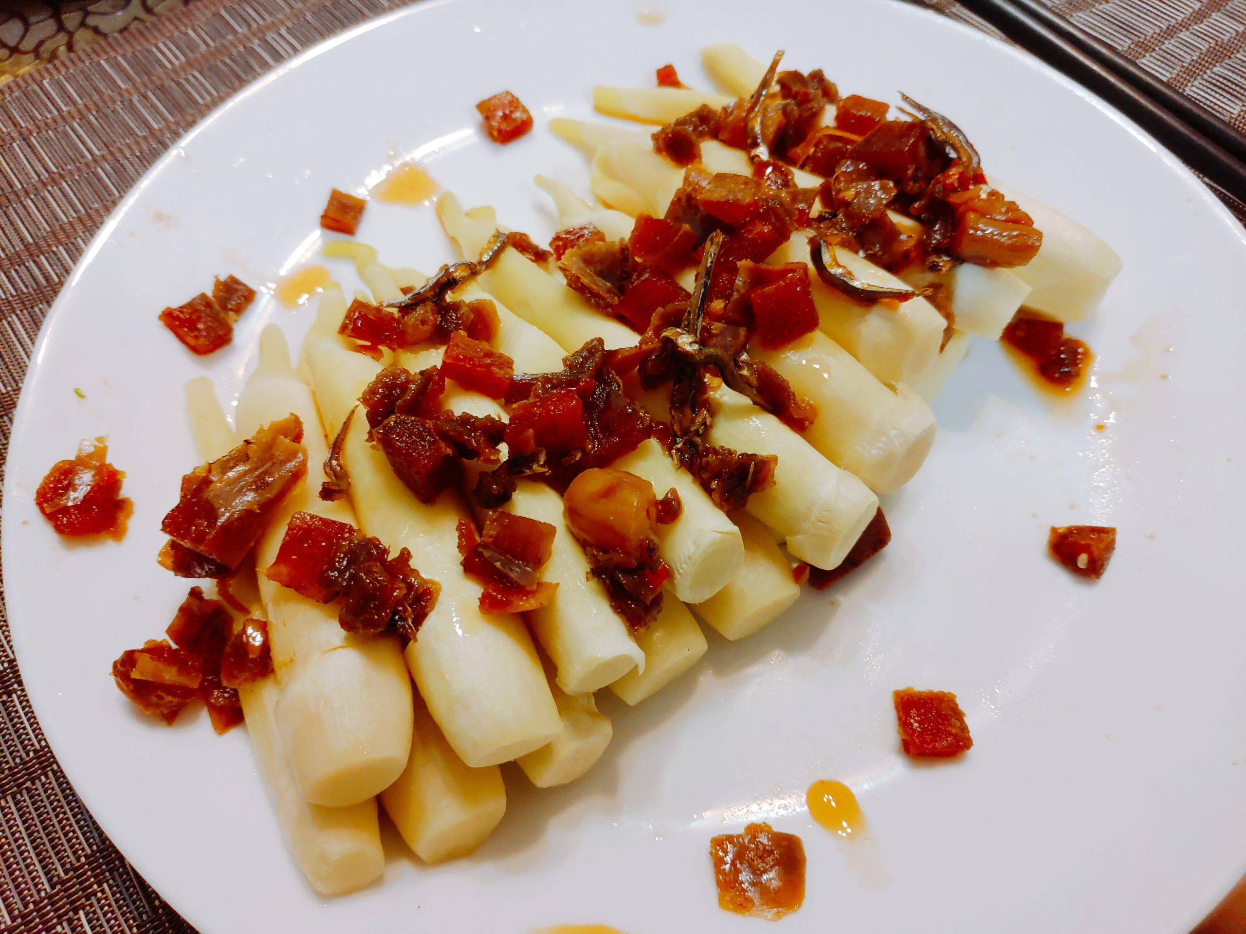 【食譜】筊白筍烏魚子佐XO醬|簡單零失敗,三步驟就完成
