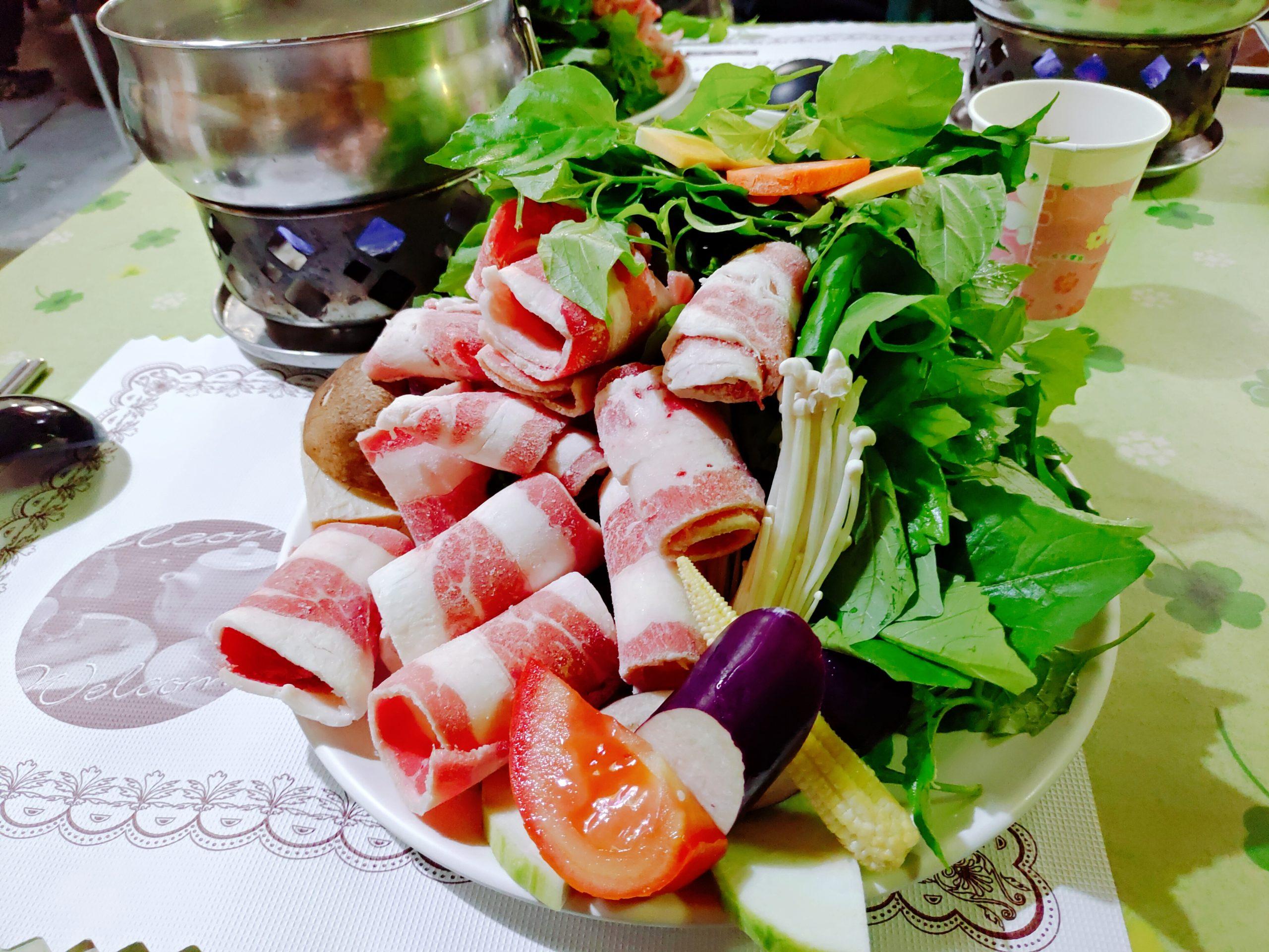 【花蓮瑞穗】瑪卡多庭園咖啡|火鍋的野菜份量爆炸多,獨特的蔬菜湯底