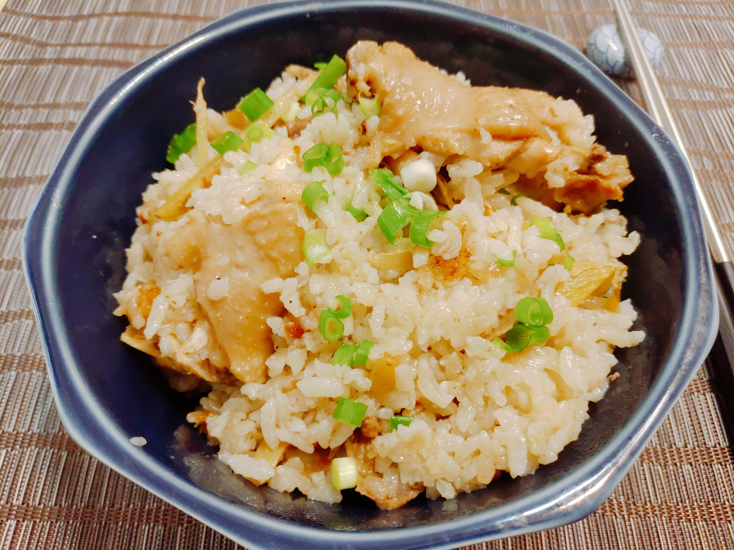 【食譜】麻油雞飯|冬季進補又簡單,一鍋做好全家享福