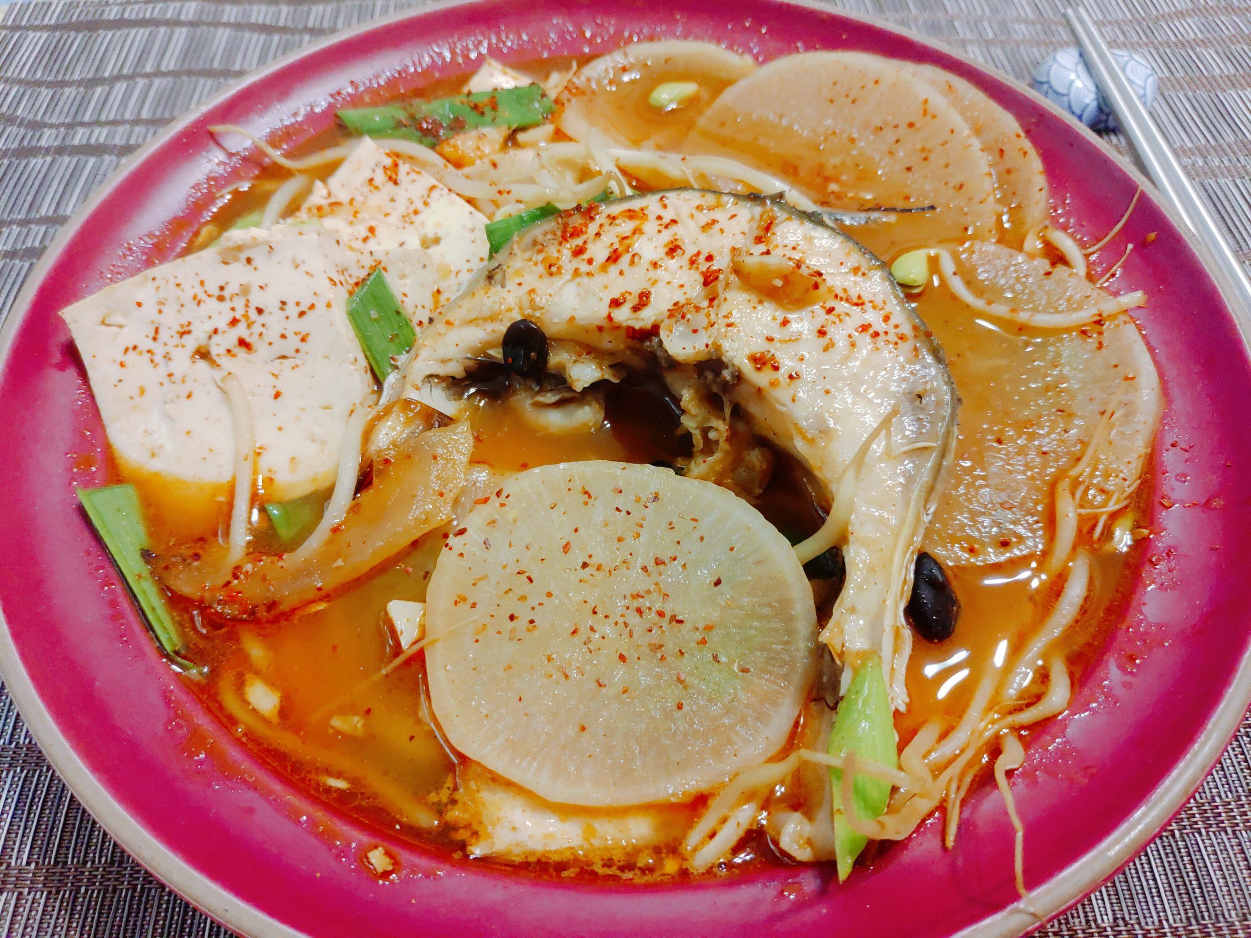 【食譜】韓式辣魚湯|鮮嫩魚肉與微辣湯頭,韓式料理一點都不困難