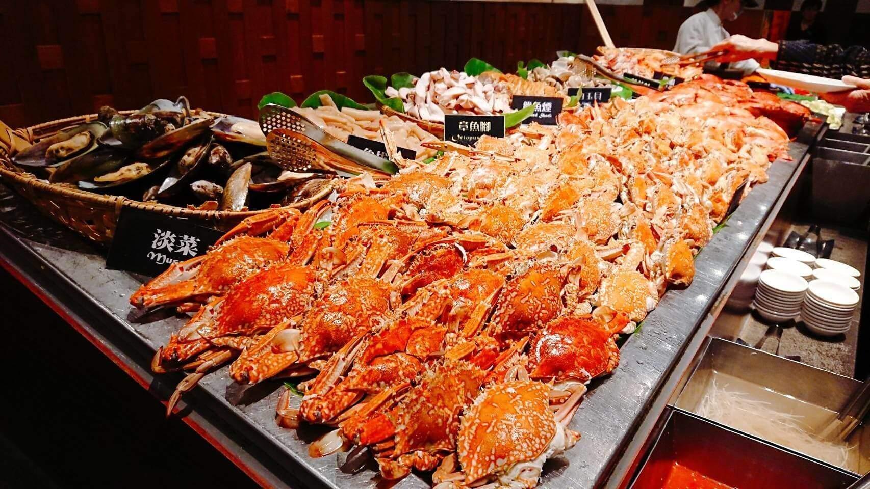【台北東區】泰市場–各式海鮮吃好吃滿的吃到飽泰式料理