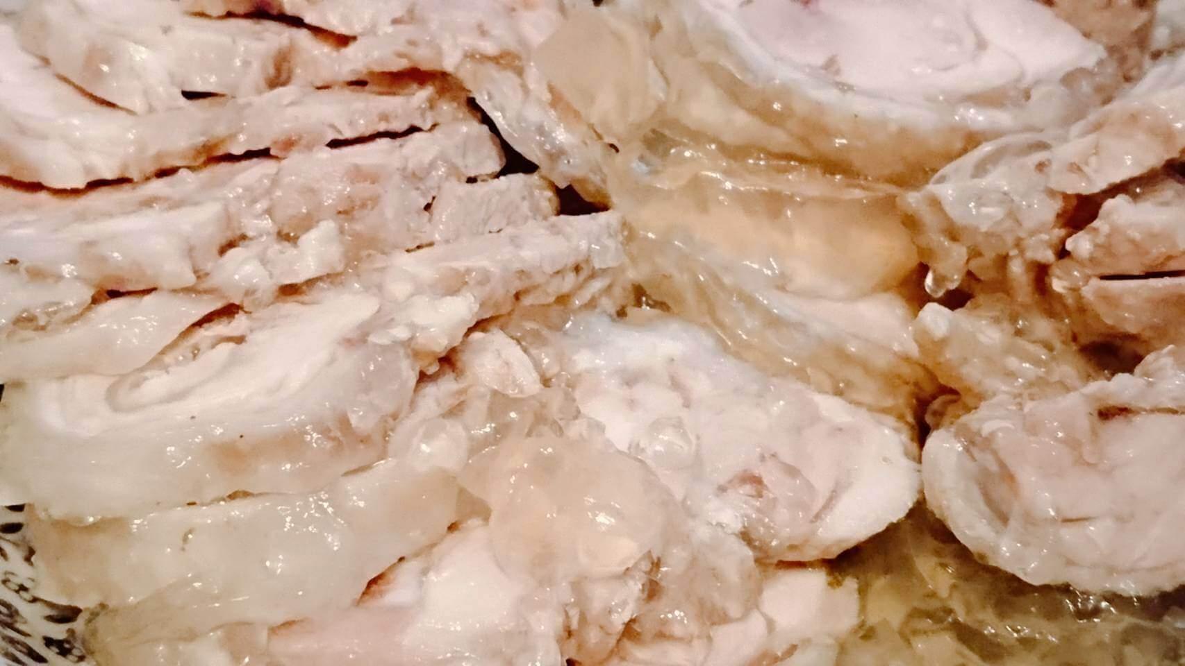 【食譜】超簡單的無骨水晶雞