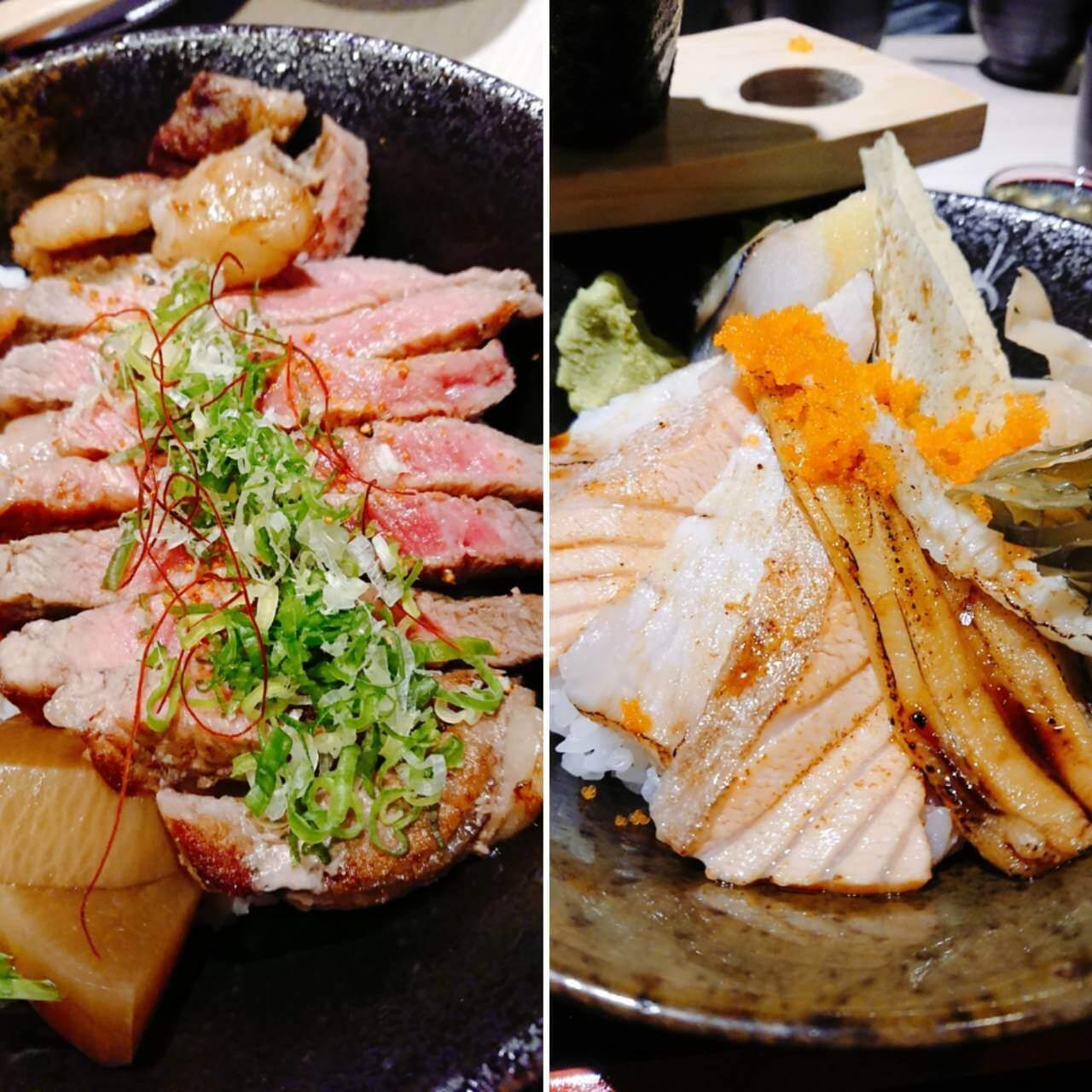 【台北東湖】朴食堂日式料理–豐盛生魚片丼飯X極嫩牛小排丼的聚會