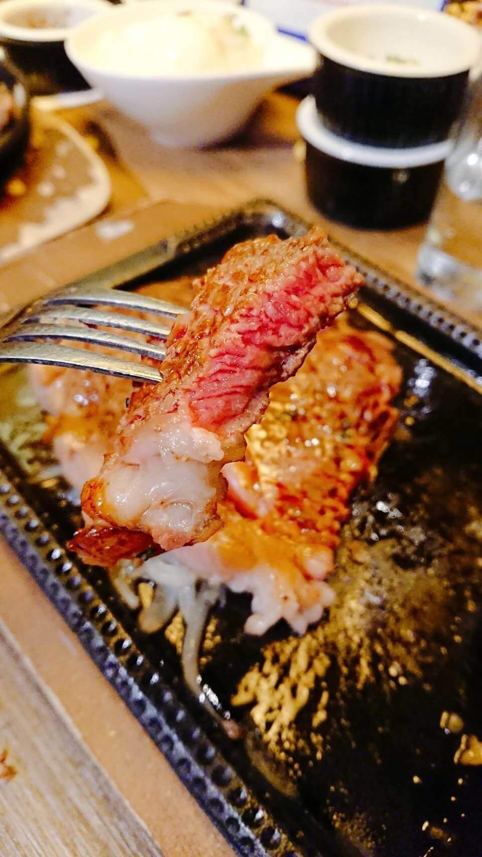 【台北食記】TOTSUZEN–現切秤斤論兩賣的超美味牛排