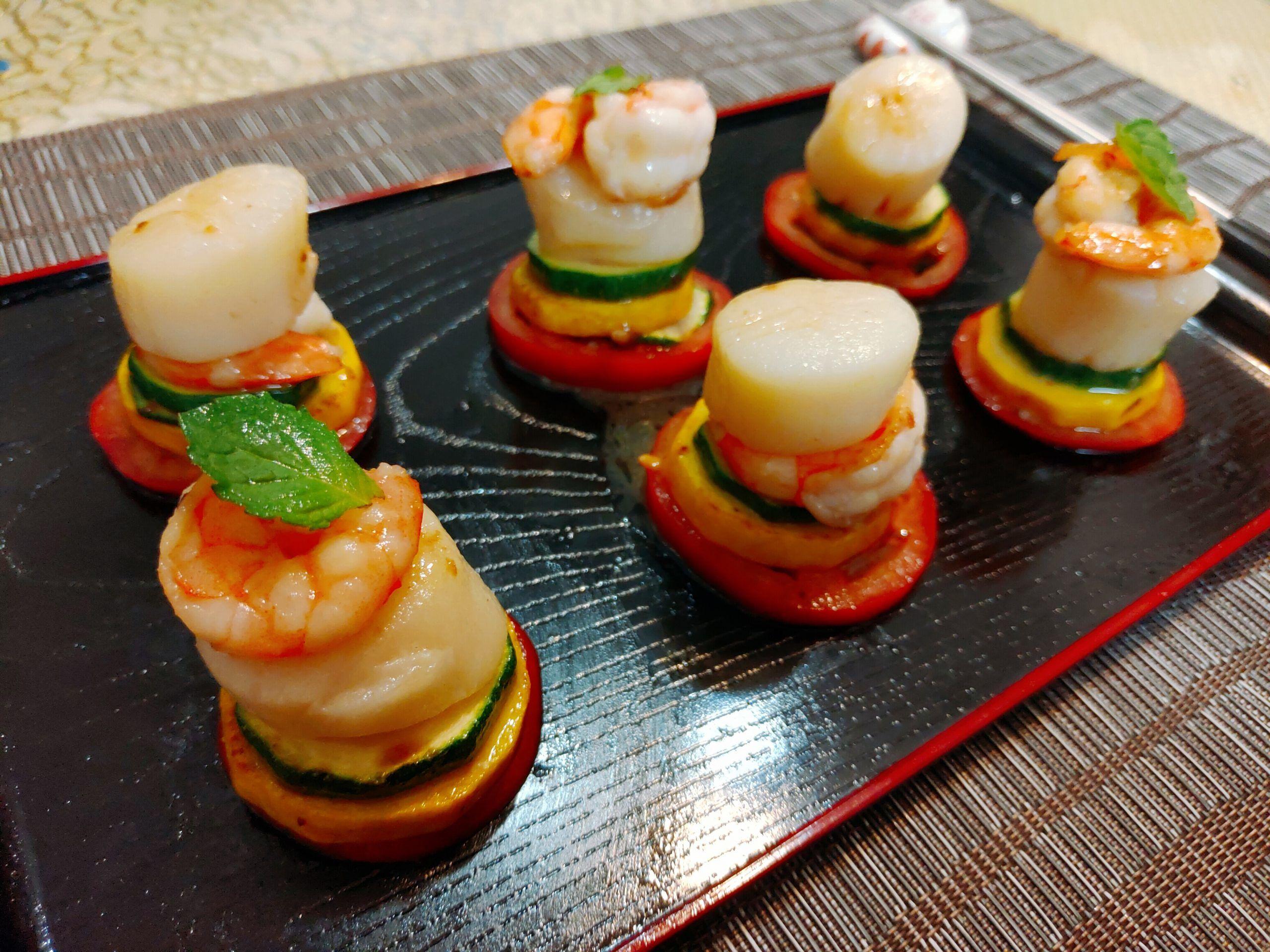 【食譜】鮮蝦干貝塔|蝦與干貝的完美結合,漂亮美味又好拍