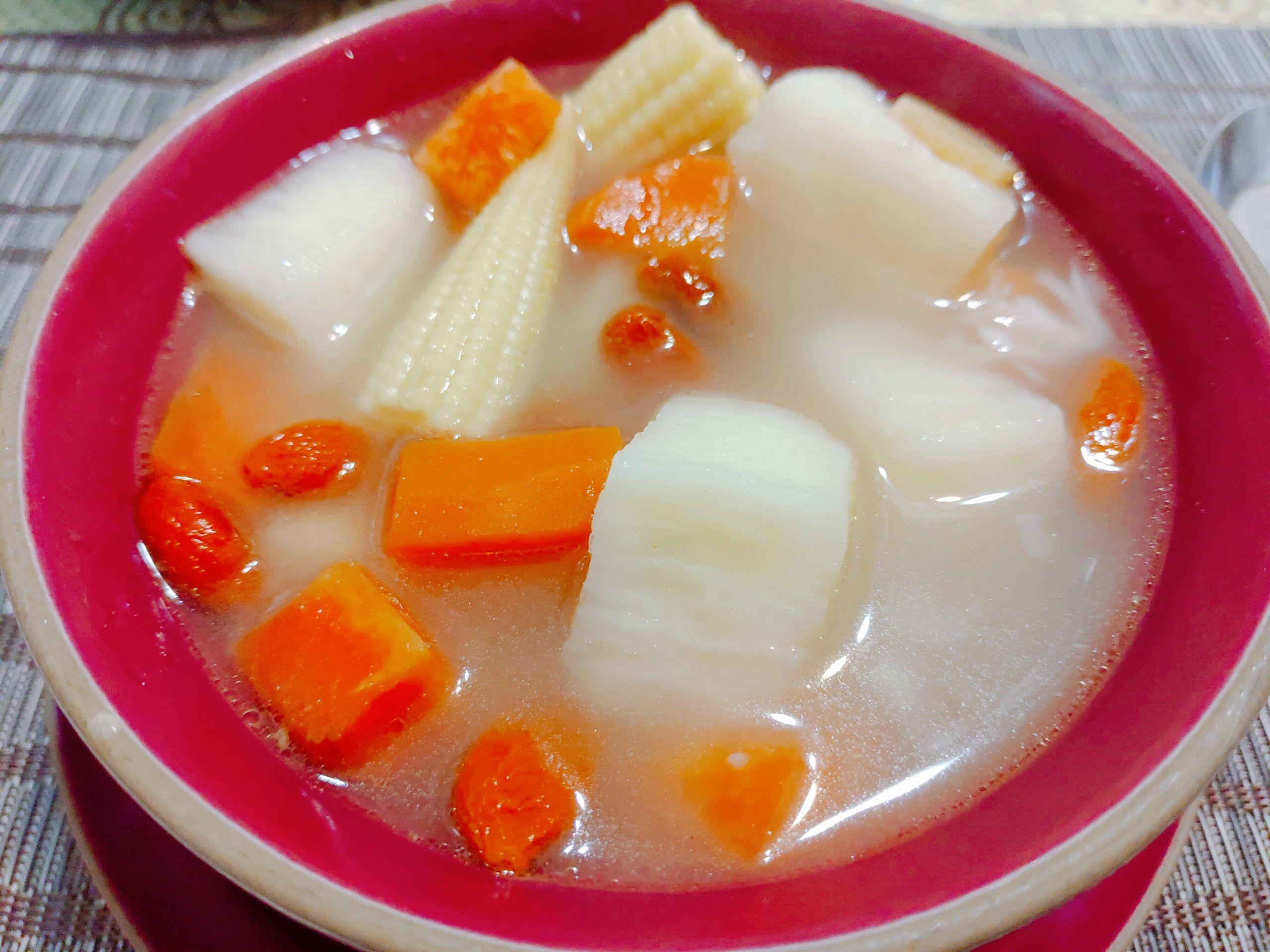 【食譜】山藥蔬菜湯|冬季進補養身補氣又能防老化|簡易食譜