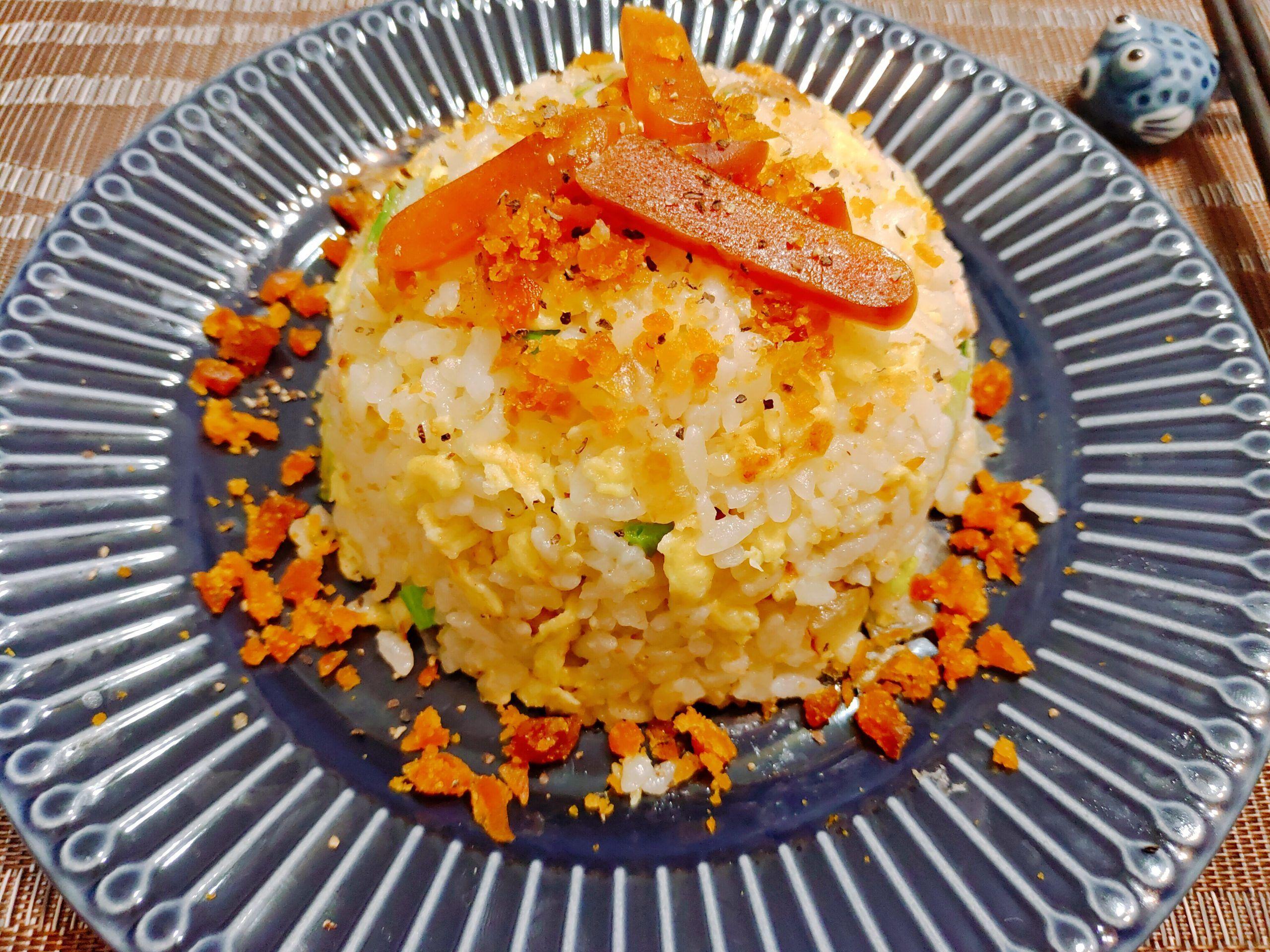 【食譜】烏魚親子炒飯|烏魚子與烏魚肉的完美融合|簡單零失敗
