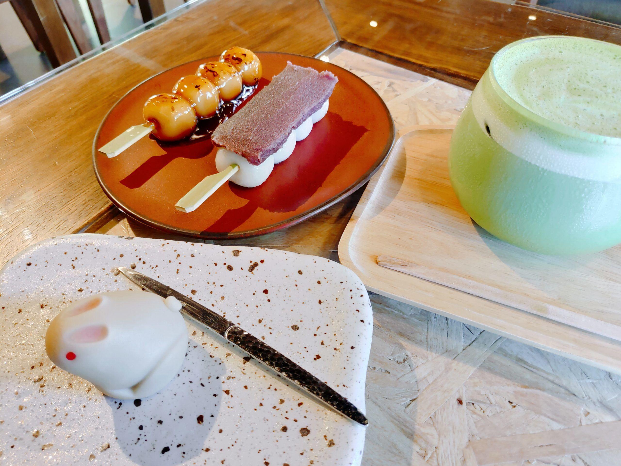 【花蓮市區】豆茶寮|正宗日式和菓子,兔兔外型超可愛又好吃