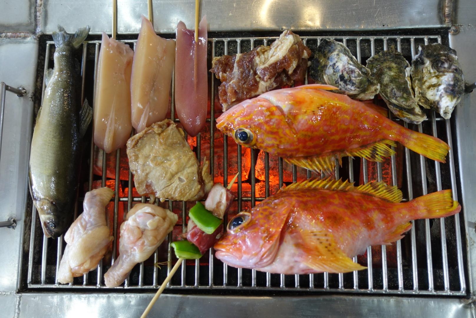【宜蘭壯圍】海世界複合式燒烤|各式新鮮海魚烤好烤滿吃到飽