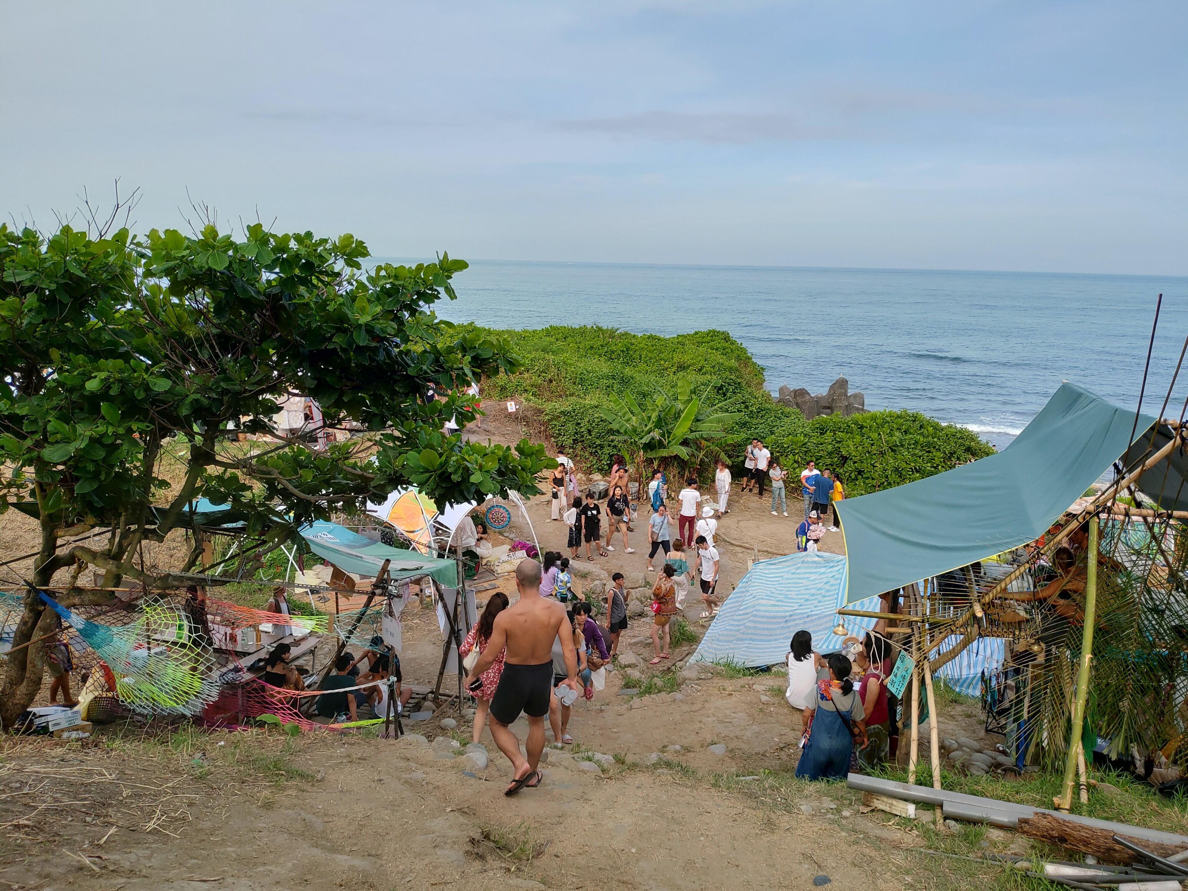 【花蓮壽豐】海或瘋市集   充滿嬉皮風情與自由氣息的獨特偎海市集