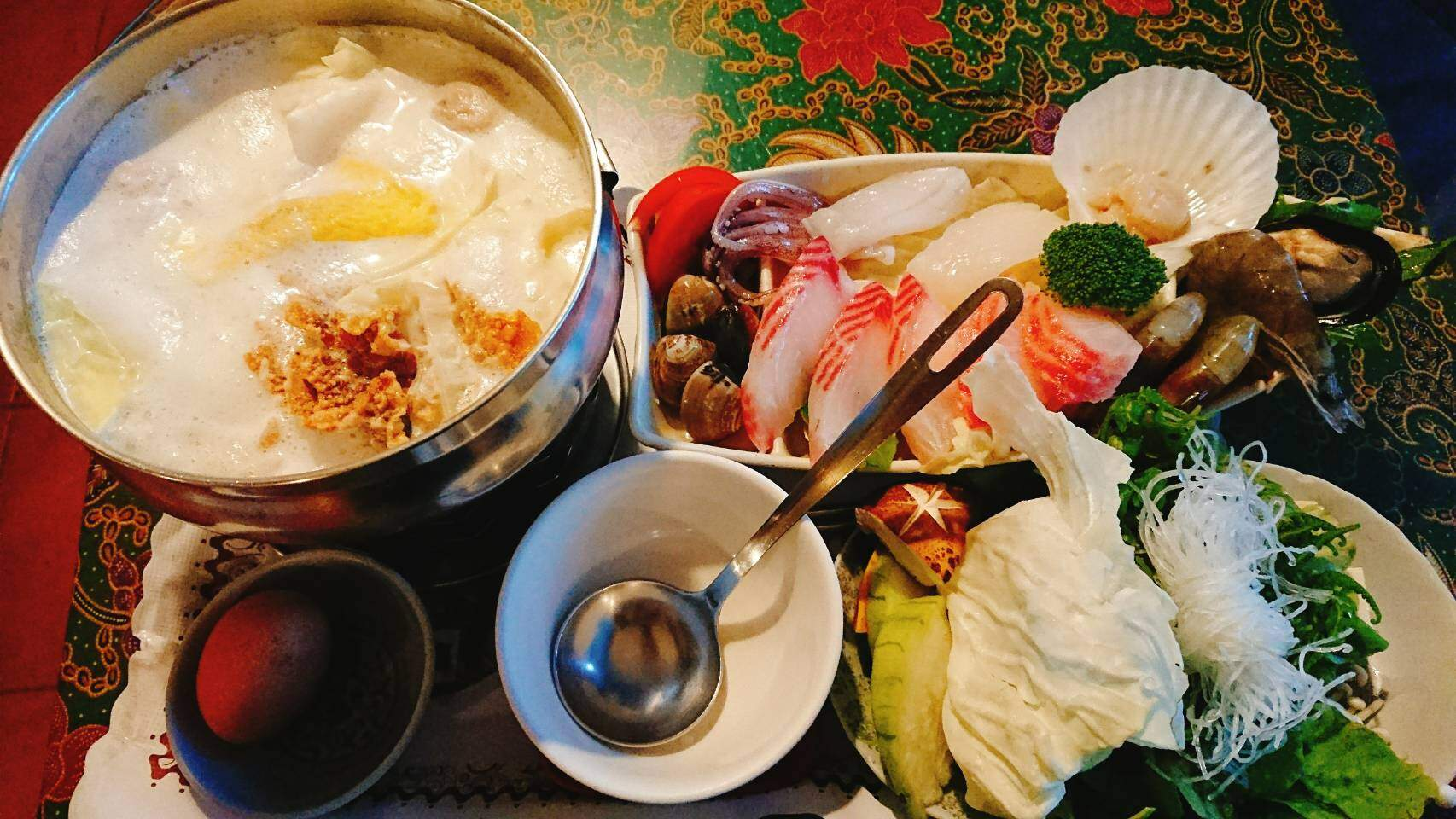 【花蓮瑞穗】綠精靈|濃郁香甜的美味牛奶鍋